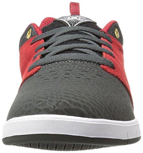 DC Cole Signature Shoe pour hommes gris/rouge