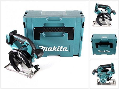 Preisvergleich Produktbild Makita DCS 551 ZJ Akku Metall Handkreissäge 18V Brushless 150 x 20 mm Solo im Makpac mit Schutzbrille
