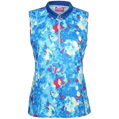 Polo Slazenger - Slazenger Femmes Fashion Sans Manche Golf Polo