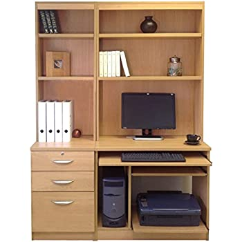 best desk wood computer images with sulias pinterest on hutch solid
