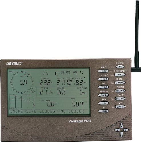 Davis Vantage Pro 2 Weather Station - Black