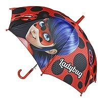 Miraculous Ladybug 2400000357 Automatic Umbrella, Red (Rojo 001), 45 cm