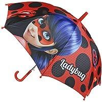 Miraculous Ladybug, 2400000357,ombrello automatico con personaggio dei cartoni animati, 45cm (d)