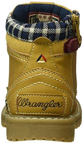Wrangler Jungen Yuma Creek Jr Kurzschaft Stiefel Gelb (24 Tan Yellow)