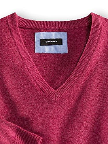 Walbusch Herren Cashmere-Pullover einfarbig in den Farben Blau, Braun, Rosé, Haselnuss, Cyclam, Petrol Cyclam