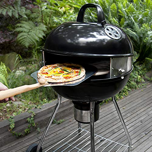 PIZZACRAFT Kit Pizza per Barbecue Carbone
