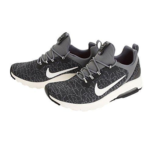 Nike Damen Air Max Motion Racer, Chaussures de Running Femme, Black/Sail-Cool Grey BLACK/SAIL-COOL GREY