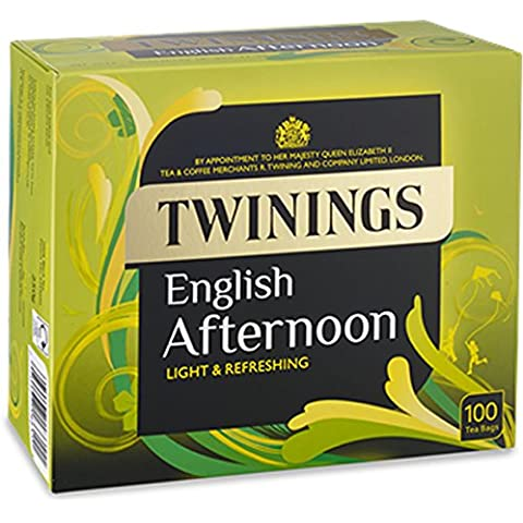 Twinings English pomeriggio bustina di t? da 100 pezzi nel Regno Unito beni esclusivi domestici (Parallelo Unità)