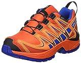 Salomon L39043600, Zapatillas de Trail Running para Niños, Naranja (Lava Orange Rust/Blue Yonder), 33 EU