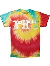 Jimi Hendrix - - Tie-Dye Logo T-shirt homme