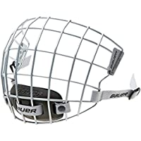 Bauer Mesh per bambini eishockeyhelm 5100Maschera, Bambino, Gitter für Eishockeyhelm 5100 Facemask, Silver - True Vision, S