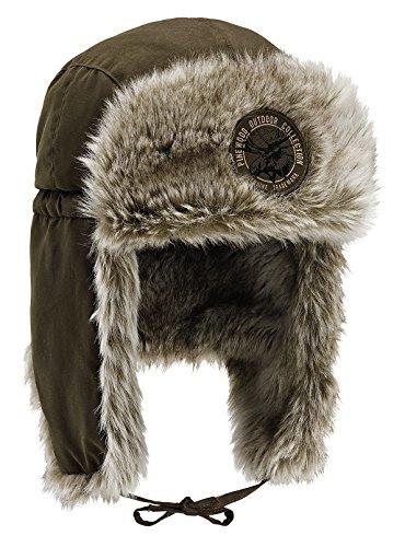 Pinewood Murmansk Winterkappe Mütze, wildlederbraun, XL-XXL