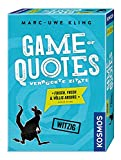 Marc-Uwe Kling ''Game of Quotes' Spiel'
