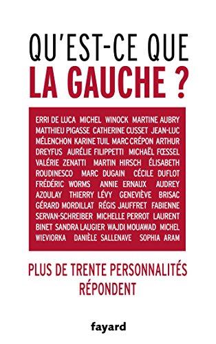 Qu'est-ce que la gauche ? par From Fayard
