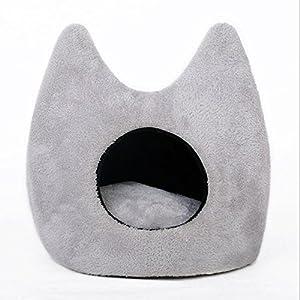 Sunghye pour animal domestique Chat Chien Maison chenil Chat mignon en forme de sac de couchage Tapis Lit canapé Chatterie douce et chaude pour petits chats Chiens Chihuahua Teddy