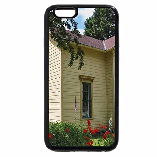 iPhone 6S Case, iPhone 6 Case (Black & White) - The Sheffield House - Portland, OR