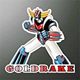 Autocollant Goldorak Goldrake Grendizer Ufo Robot Manga anime bande dessinée Cartoon Dessins animés Sticker...