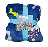 Fortnite Licensed_Primark - Coperta da Viaggio in Pile Super Morbido