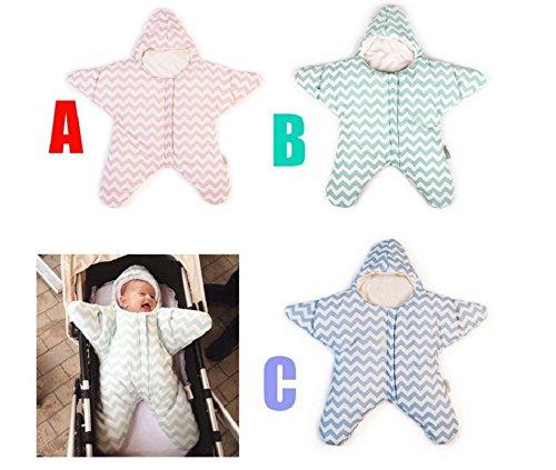 tfxwerws Lovely Babys Kleiner Seestern Baumwolle Winter dicker Modelle warmes Licht Gewicht Schlafsack