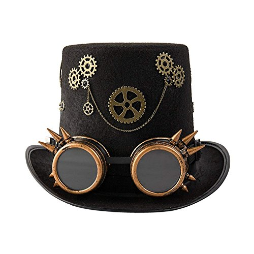 dream cosplay Sombrero de Fiesta Steampunk gótico(Mujeres)