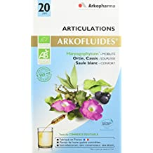 Arkopharma Agriculture Bio Ecovert Equitable/Articulations Extrait Fluides Plantes Harpagophytum/Cassis/Ortie Piquante/Saule Blanc 20 Ampoules 15 ml
