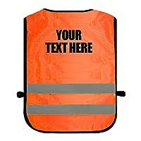 High Visibility Childrens Hi Vis Viz Tabard Safety Waistcoat Sizes