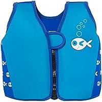 Swimbest - Baby/Kinder - Schwimmjacke / Schwimmweste aus Neopren, Blauer Fisch , 3-4 Jahre Oberweite > 24 Zol (Bis zu etwa 30 kg)