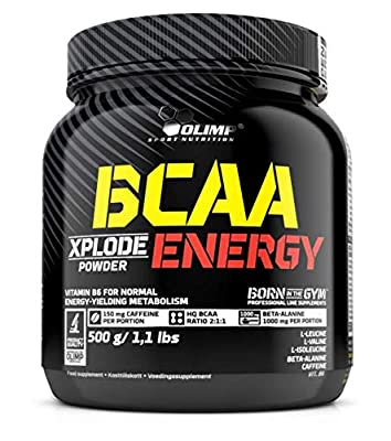 Olimp Nutrition BCAA Xplode Energy, Xplosive Cola, 1 kg by Olimp Nutrition
