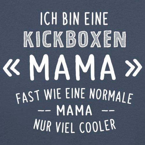 Ich bin eine Kickboxen Mama - Herren T-Shirt - 13 Farben Navy