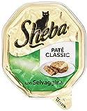 Sheba - Patã© Classic Con Selvaggina, Alimento Completo Per Gatti - 85 G