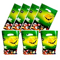 30 Packs Halloween gift bags Cute Party Gift Bags Halloween Gift Bags Party Supplies Birthday Decoration Gift Bags Well for Girls or Boys and Baby Shower.