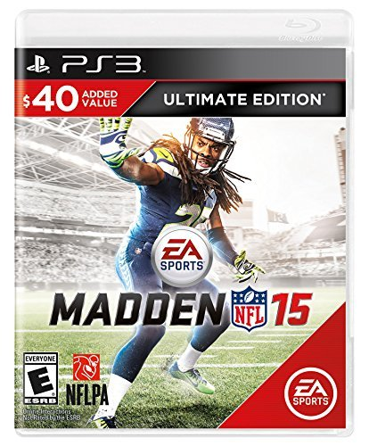 Madden NFL 15 (Ultimate Edition) - PlayStation 3 by Electronic - Ps3-madden 15