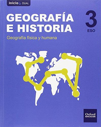 Geografía E Historia. Libro Del Alumno. ESO 3 (Inicia Dual) - 9788467399073 por Varios Autores