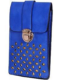 Ratash Golden Cut Work Sling Bag Blue (Hbd_73_74_75_14)
