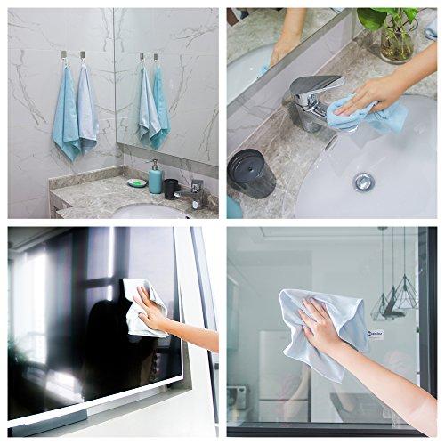 Mikrofaser Küche Reinigungstuch, Küche Handtuch, 2Pack, super saugfähig, super A +.