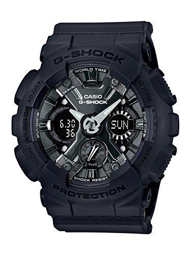 Casio G-shock Analog-Digital Black Dial Men\'s Watch-GMA-S120MF-1ADR (G730)