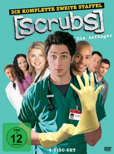 Touchstone Scrubs: Die Anfänger - Die komplette zweite Staffel [4 DVDs]