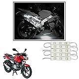 #10: Vheelocityin 15 LED Custom Cuttable Bike/ Scooty White Light for Interior/ Exterior For Bajaj Pulsar 135 Ls Pulsar