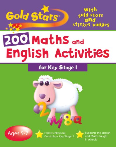 Goldstars Bumper Workbook 200 Maths And English Activities Key Stage 1