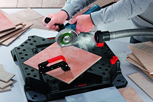 Bosch Professional Winkelschleifer GWS 7-125 (Zusatzhandgriff, Aufnahmeflansch, Spannmutter, Schutzhaube, Zweilochschlüssel, Karton, Scheiben-Ø: 125 mm, 720 Watt) - 2