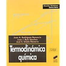 Termodinámica química (Ciencias químicas. Química básica)
