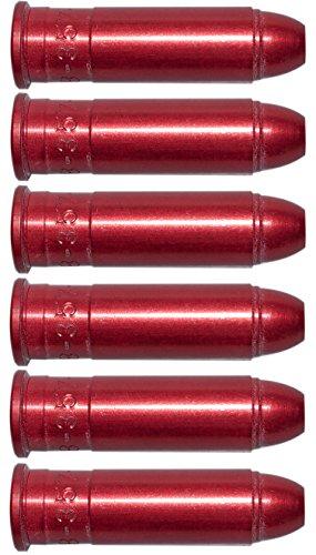 Pufferpatronen 357 Magnum 38 Special Aluminium Rot 6 Stck Pufferpatrone