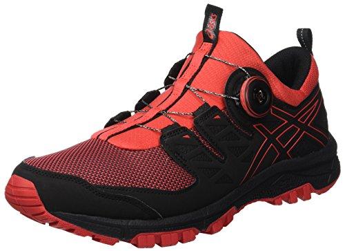 Asics Gel-fujirado, Zapatillas de Entrenamiento para Hombre, Rojo (Red Alert/Black 600), 42 EU