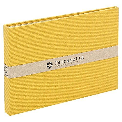 Nakabayashi cuite (Terracotta) album de poche / 2L c?t? de taille / jaune TER-2LP-85-Y (japon importation)