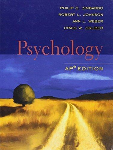 Psychology: AP edition by Philip G. Zimbardo (2006-01-04)