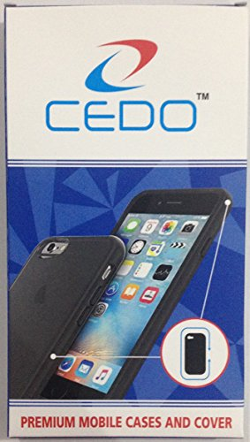 CEDO hardbackLenvK5+ Premium Rubberised Matte Hard Case Back Cover For Lenovo Vibe K5 / K5+ Plus,(Pitch Black)