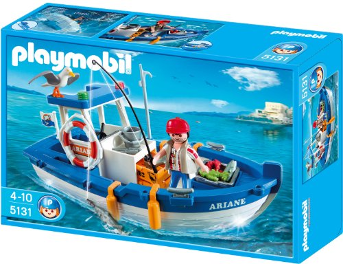 Playmobil 626614 - Vacaciones Barco De Pesca