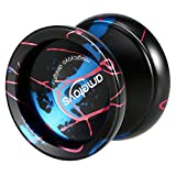 Ametoys Professional Magic Yoyo Hochgeschwindigkeits-Aluminiumlegierung Yo-yo CNC-Drehmaschine KK Lager mit spinnender Schnur für Jungen Mädchen-Kinder Kinder