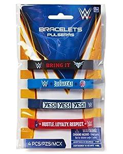 Amscan 395656 WWE Rubber Bracelets by Amscan Internatinal Ltd