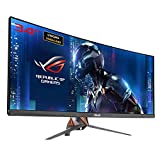 Asus ROG SWIFT Curved PG348Q Gaming Monitor, 34' UWQHD (3440x1440), IPS, up to 100Hz, DP, HDMI, USB3.0, G-SYNC